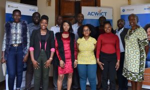 ACWICT Staff Past Beneficiries Mastercard Foundation Team